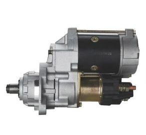 China Komatsu Auto parts Nikko Starter Motor 600-863-4610 0-24000-3060 S6D102 PC200-7 factory