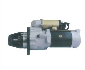 China Komatsu Sliding Armature Nikko Starter Motor 13T Silver Color Copper Material 600-813-4560 0-23000-3160 S6D105 PC200-1 factory