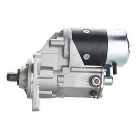 China Motor Grader Diesel Engine ISUZU Starter Motor Silver Color Copper Material 1-81100-191-0 6BB1 6BD1 factory
