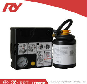 China High Pressure Car Tire Inflator 12V 450ml Glue High Accurate Digital Pressure Control factory