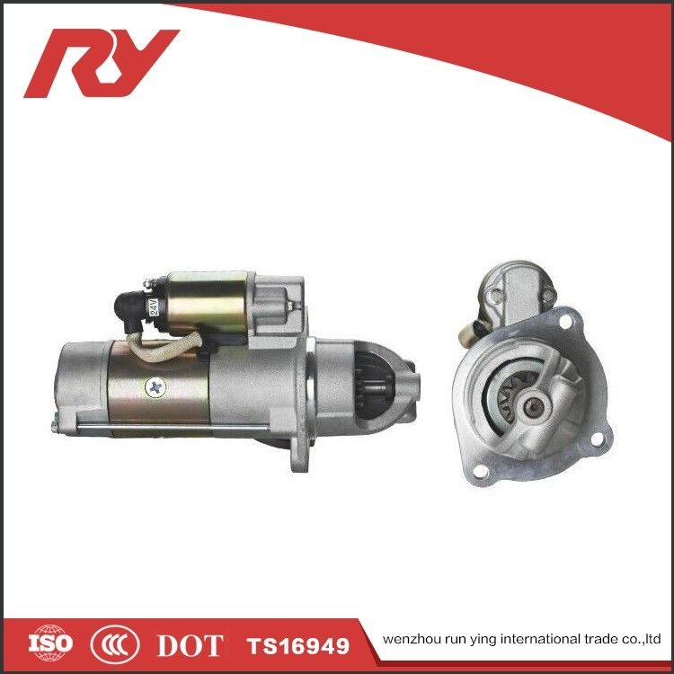 High Speed Truck Cummins Vehicle Starter Motor  Aluminium material 35V 3.8Kw supplier