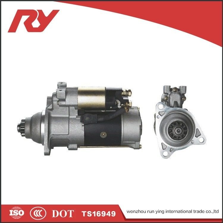Mining Truck Engine Starter Motor TS16949 Sliding Armature Driving Type 7.5Kw Power M009T80771 ME049315 6D22T 6D24 supplier
