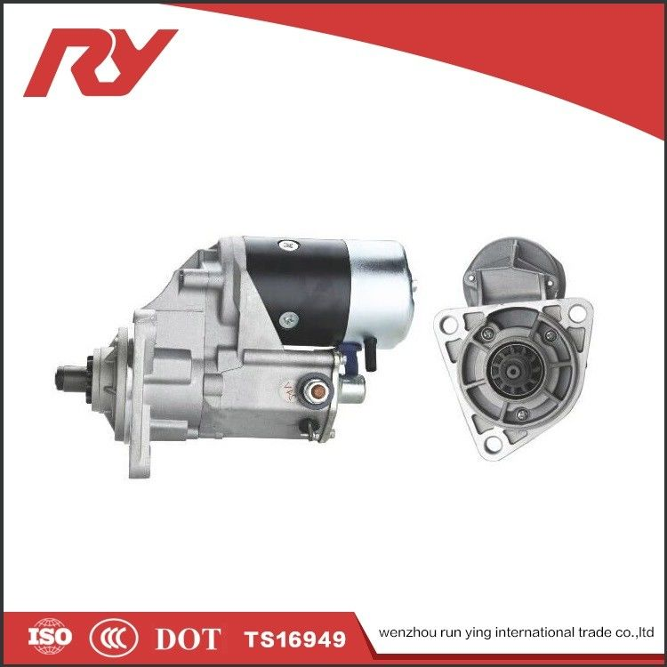 Electric  Diesel Isuzu Vehicle Starter Motor 24V 4.5Kw 1-81100-191-0 6BB1 6BD1 supplier