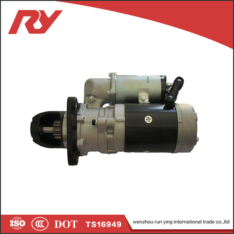 Copper Material Silver Color Automotive 24v Starter Motor 600-813-3630 0-23000-6531 S6D125 PC300-3 supplier